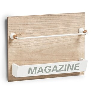 Nordic Wall Mounted Magazine Holder By Zeller
