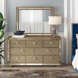 Ryne 8 Drawer Standard Dresser with Mirror by Willa Arlo Interiors