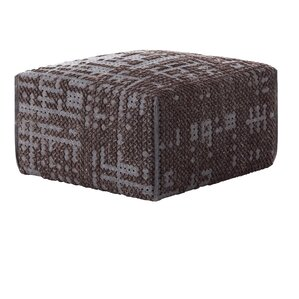 Canevas Square Abstract Ottoman by GAN RUGS