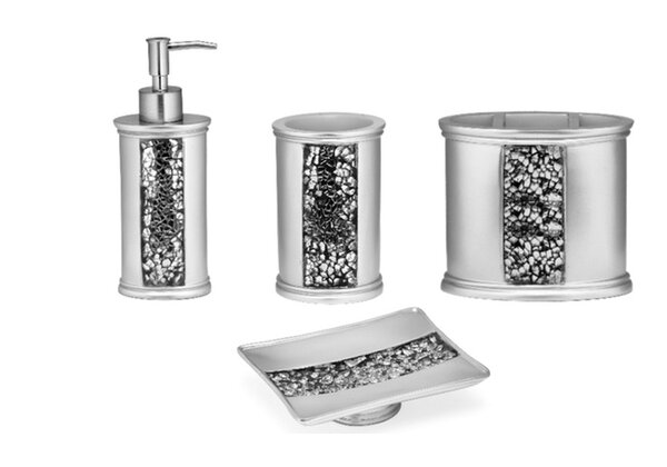Willa Arlo Interiors Irie 4 Piece Bathroom Accessory Set Reviews Wayfair