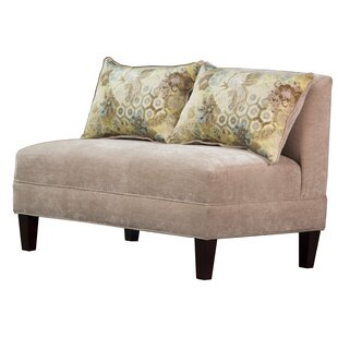 Briley Tracy Porter Armless Loveseat by Carolina Accents Today Only Sale