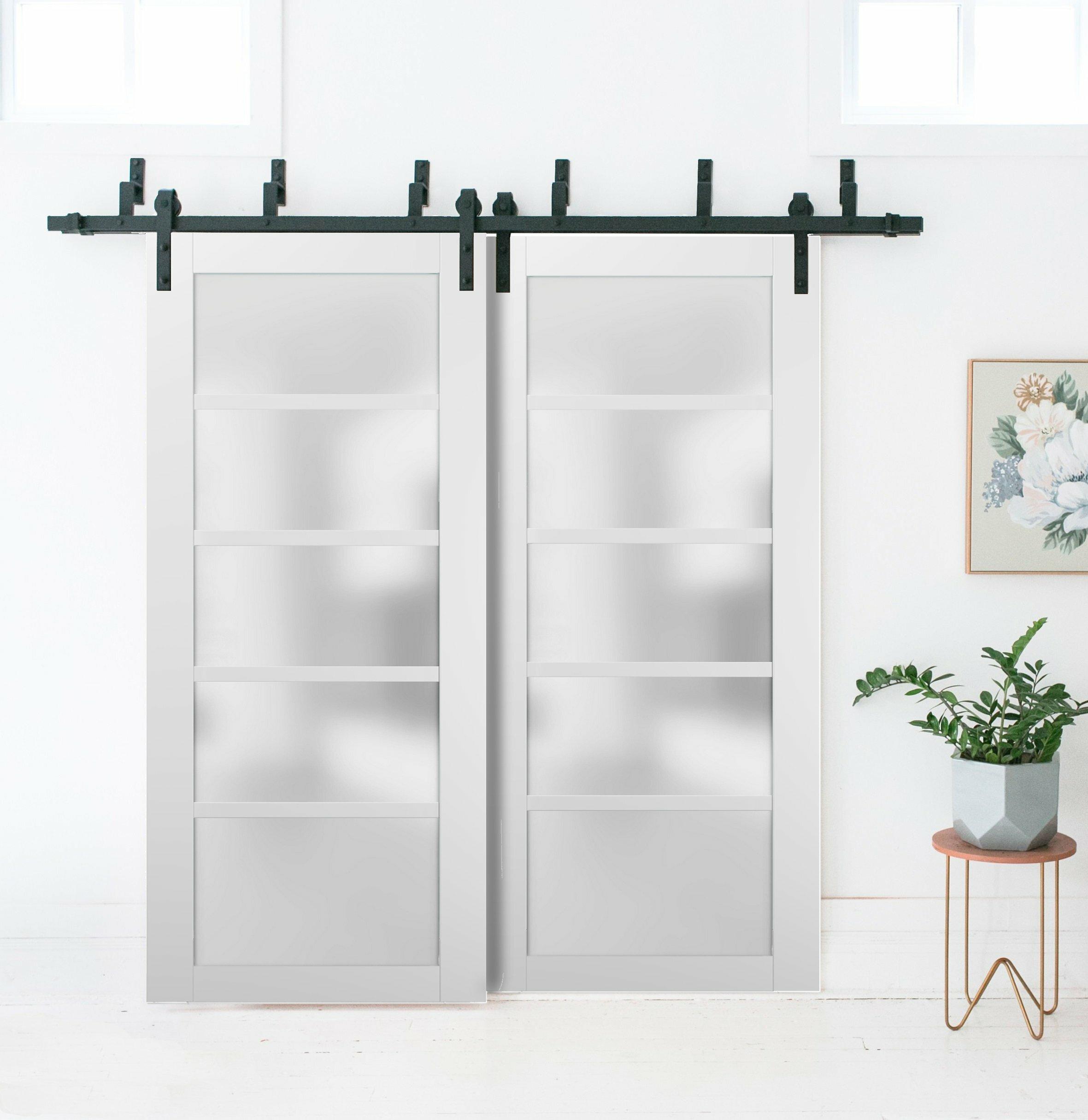 Sartodoors Quadro Glass Standard Door Wayfair