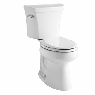 Kohler Highline Comfort Height Two-Piece Elongated 1.28 GPF Toilet with Cl..