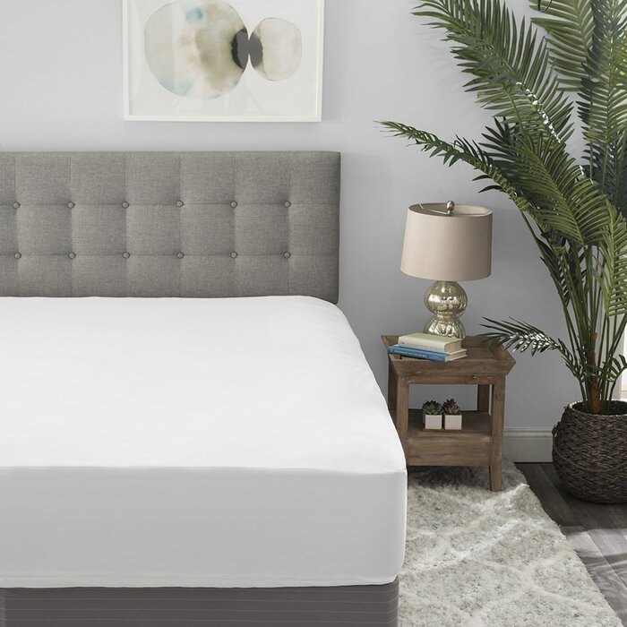 Alwyn Home Breen 360 Degree Zip Hypoallergenic Waterproof Mattress