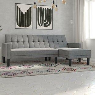 Watford Reversible Sleeper Sectional By Ebern Designs
