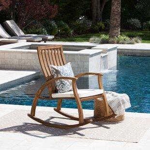 Labarre Outdoor Rocking Chair Winston Porter