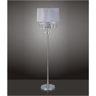 Glam floor lamps youll love wayfair save aloadofball Choice Image