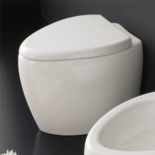 Scarabeo by Nameeks Moai 1.2 GPF Elongated Toilet Bowl