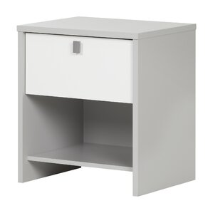 Cookie 1 Drawer Nightstand by South Shore