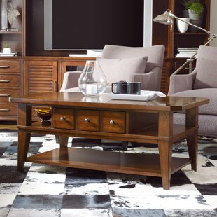 Wendover Coffee Table with Storage Hooker Furniture