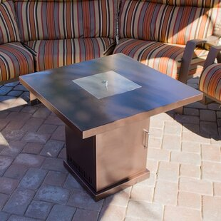 AZ Patio Heaters Conventional Steel Propane Fire Pit Table