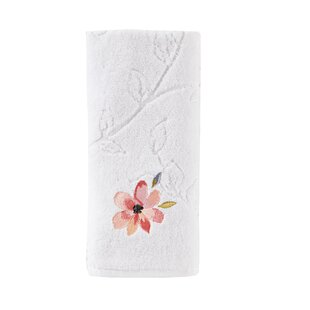 Carrell Embroidered 100% Cotton Hand Towel