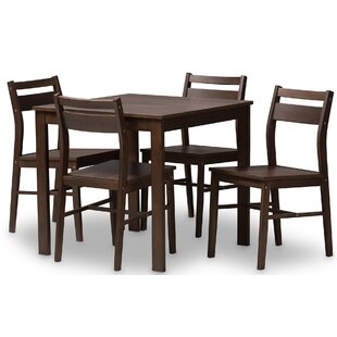 Hersom 5 Piece Dining Set