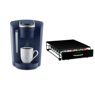 Keurig K-Select- Single Serve K-Cup Pod Coffee Maker Bundle Comes with Storage Drawer