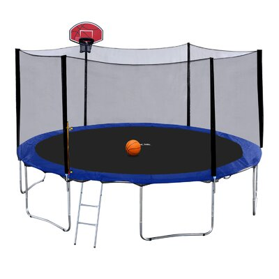 Exacme 15' Round Trampoline with Safety Enclosure