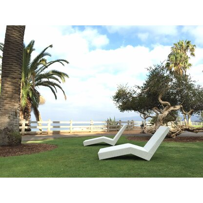 Skyline Design Malta Chaise Lounge With Cushion Perigold