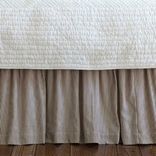 Cordele Stripe 350 Thread Count 18 Bed Skirt