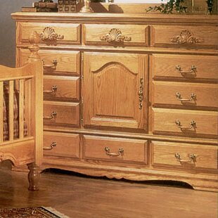 August Grove Lucie 12 Drawer Combo Dresser