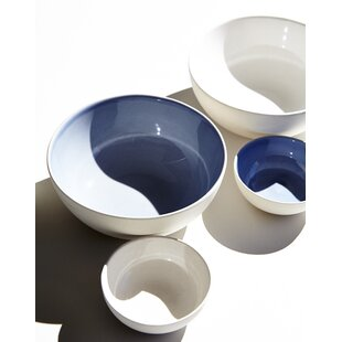 Shell Bisque 4 Piece Cereal Bowl Set