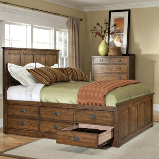 Boehme 6 Drawer Platform Bed
