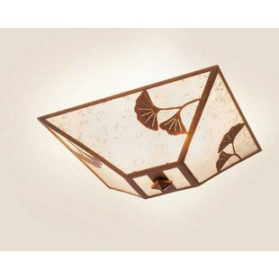 Steel Partners Ginkgo 2-Light Flush Mount