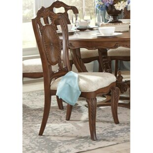 Makai Leatherette Upholstered Dining Chair (Set Of 2) by Astoria Grand #1