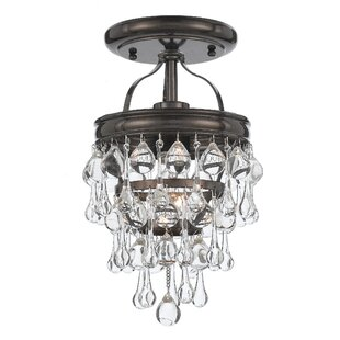 Best Choices Devanna 1-Light Semi Flush Mount By Willa Arlo Interiors