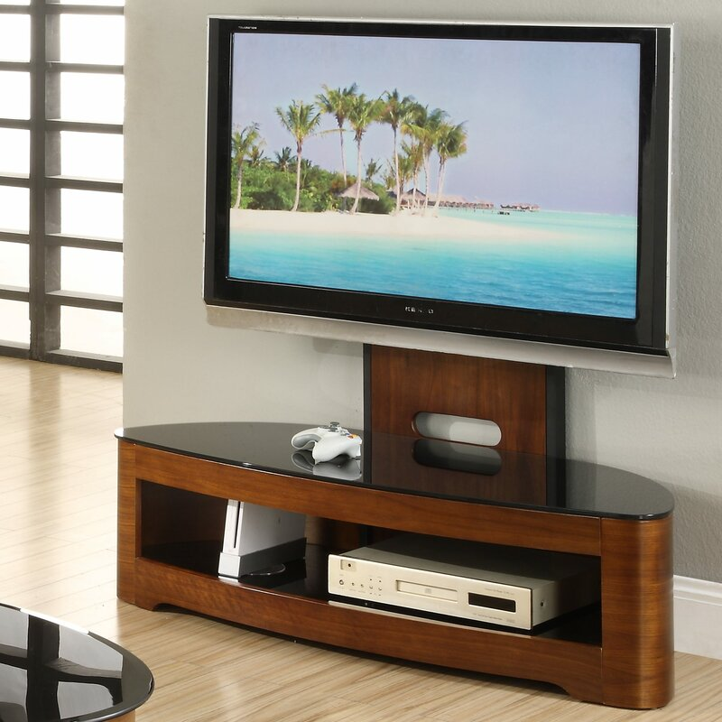 Exceptional Curve TV Stand For TVs Up To 60 Photo