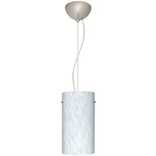 Besa Lighting Tondo 1 Integrated Bulb Mini Pendant