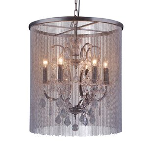 Rosdorf Park Macaulay 6-Light Drum Chandelier
