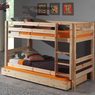 Ethridge European Single Bunk Bed With Trundle By Zoomie Kids