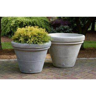Campania International Estate Cast Stone Pot Planter