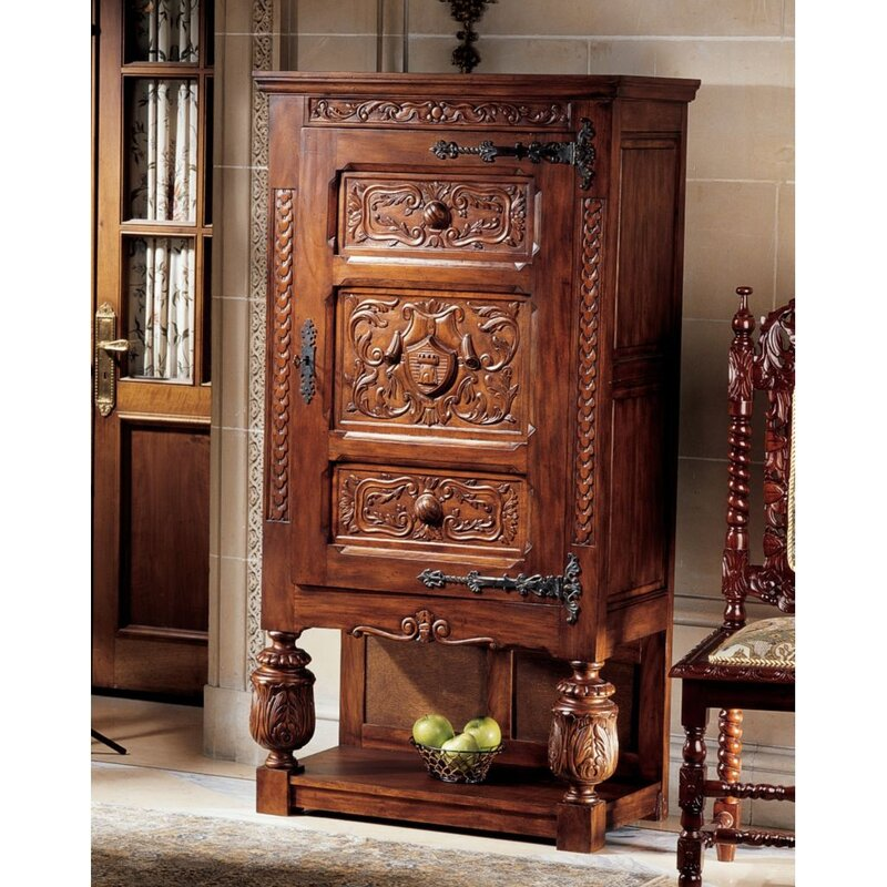 default_name - Design Toscano Coat Of Arms Armoire & Reviews Wayfair