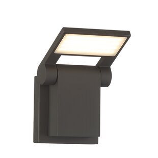 Price Check Markley Adjustable LED Outdoor Sconce Mount By Latitude Run