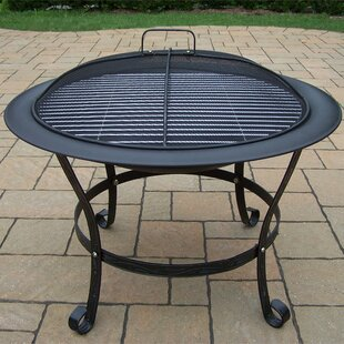Oakland Living Fire Pits Cast Iron Wood B..