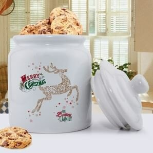 Holiday Aisle Personalized Cookie Jar