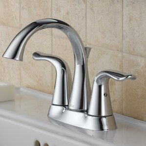 faucets bathroom. Lahara Centerset Double Handle Bathroom Faucet with Drain Assembly and  Diamond Seal Technology Faucets You ll Love Wayfair