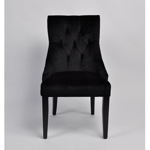 Pell Velvet Upholstered Dining Chair by R..