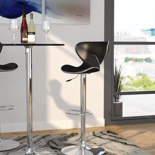 Marlon Adjustable Height Swivel Bar Stool