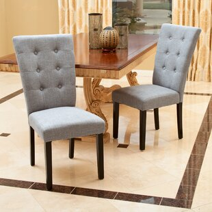 Affordable Jeremias Upholstered Dining Chair (Set of 2) by Ivy Bronx Reviews (2019) & Buyer's Guide