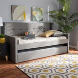 Motour Twin Daybed with Trundle by Latitude Run