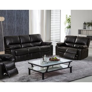 Koval Reclining 2 Piece Living Room Set Red Barrel Studio