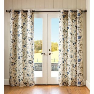 Jacobean Thermal Curtain Panels (Set of 2) by Plow & Hearth