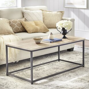 Parsons Coffee Table with Tray Top