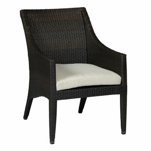 Athena Euro Patio Dining Chair with Cushion