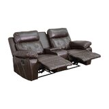 2-Seat Reclining Home Theater Loveseat