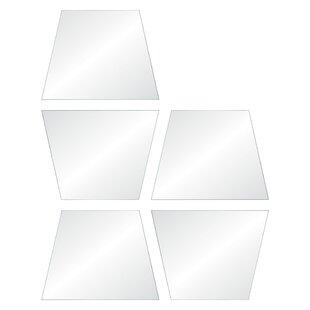 Orren Ellis Prosperie Wall Mirror (Set of 5)