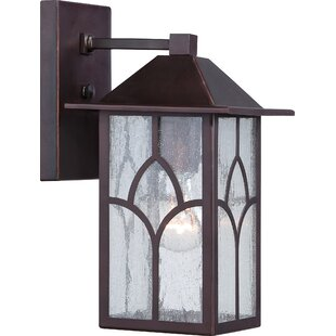 Red Barrel Studio Dohn Stanton 1-Light Outdoor Wall Lantern