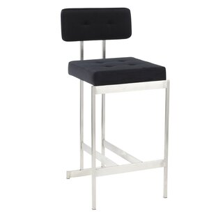 Keswick Contemporary 24 Bar Stool Orren Ellis