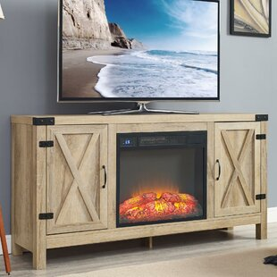 Richburg Blonde TV Stand for TVs up to 75